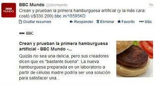 Twitter de BBC Mundo.