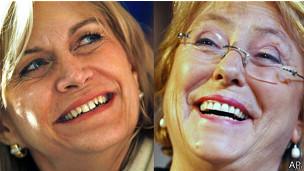 Bachelet y Matthei