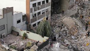 Explosión en Rosario