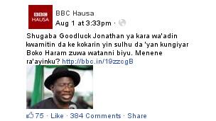 Servicio Hausa de la BBC