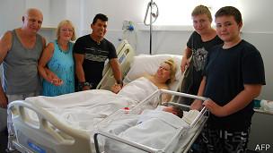 Familia de María Lorena