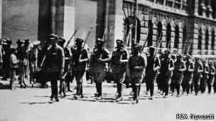 Чехословацкие легионеры во Владивостоке