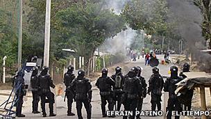 Protesta en el Catatumbo, Norte de Santander, Colombia