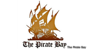 Logo del portal sueco The Pirate Bay