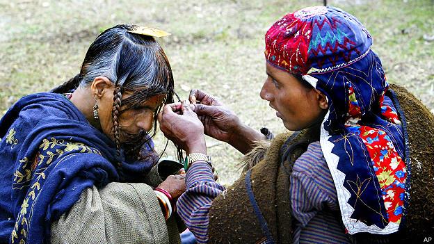 भाषा, बंजारे, भारत, विलुप्त