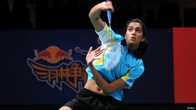 बैडमिंटन खिलाड़ी पीवी सिंधु