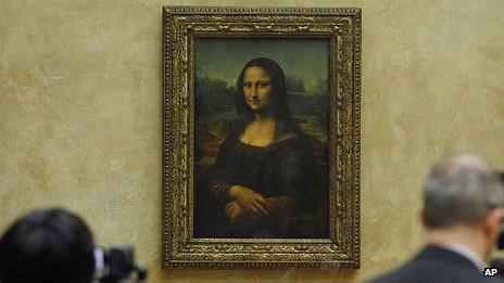 El cuadro de la Mona Lisa
