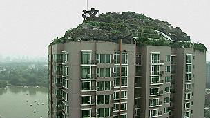 Villa en tejado en China