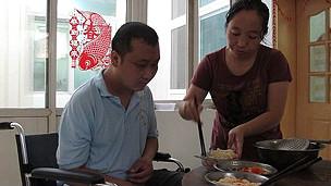 Yang Hongxia y su esposo Zhang Yansheng