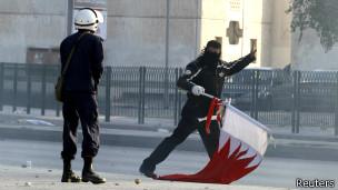 تظاهرات بحرین (عکس از آرشیو)