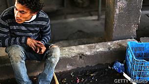 Joven en Honduras
