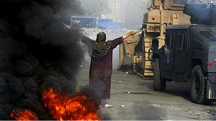 Confrontos no Egito | Foto: AFP