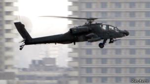 Египетский вертолет Apache