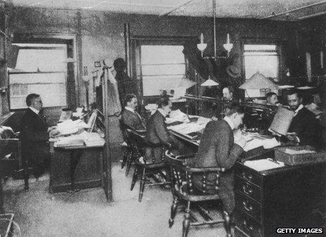 Agencia de noticias de Reuters en 1900