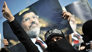 Seguidores de Morsi en El Cairo