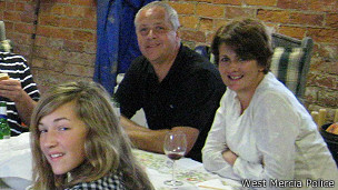 Chris Foster y familia