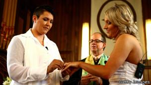 Matrimonio entre dos mujeres en Nueva Zelanda