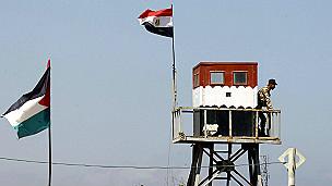Puesto de control en Rafah