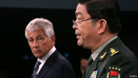 中国国防部长常万全与美国国防部长哈格尔(19/08/2013)