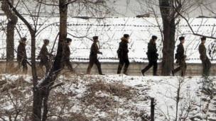 Frontera de Corea del Norte