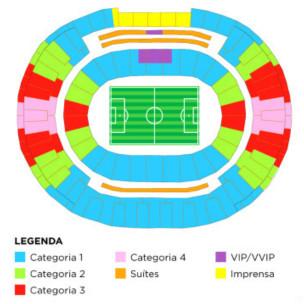 FIFA Mundial, categorías