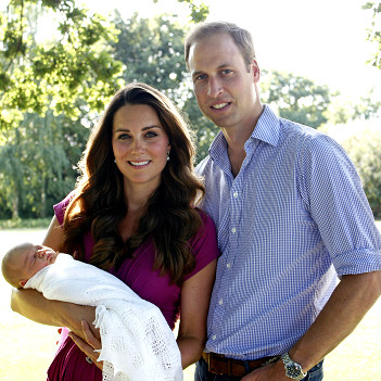 Kate, William y George