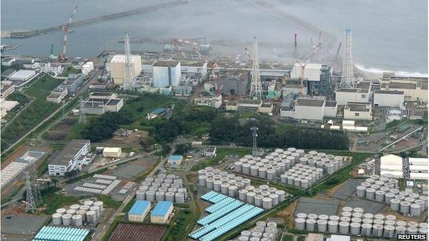 Nhà máy điện hạt nhân ở Fukushima
