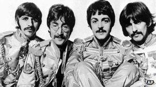 Beatles. Foto: AP