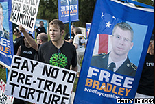 Bradley Manning's supporters
