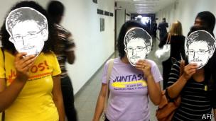 Manifestantes brasileñas