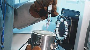tanque de almacenamiento criogénico