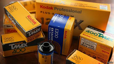 Rollos de fotos Kodak