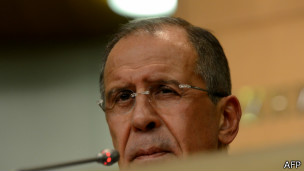 Sergei Lavrov, canciller ruso