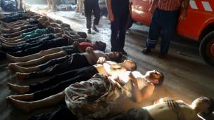 Víctimas en Siria