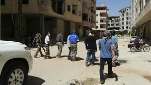 Siria: la ONU detiene los aprestos bélicos de EEUU y Londre