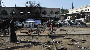 Ataque con bomba en Líbano