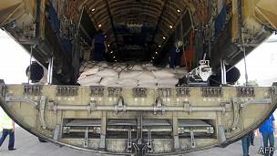 Cargamento de ayuda de Rusia