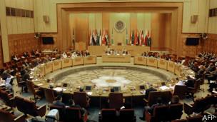Reunião da Liga Árabe em 27 de agosto para discutir a situação da Síria | Foto: AFP