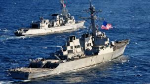 Tàu chiến các nước phương Tây đang bao quanh Syria