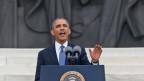 Obama habla en el aniversario de discurso de Martin Luther King