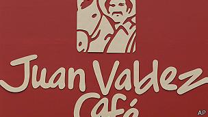 Logo de las cafeterías Juan Valdéz, de Colombia