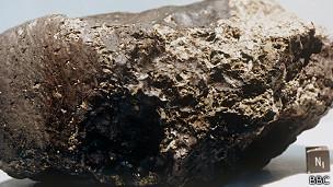 Meteorito que veio de Marte
