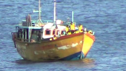 Tàu chở người lậu bị cảnh sát Australia phát giác