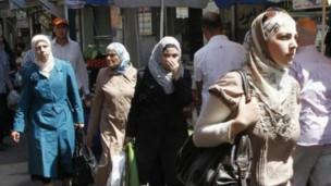 Residentes en Damasco