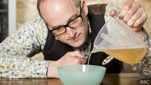 Experimento con gelatina