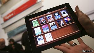 Libros digitales en el ipad