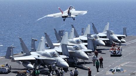 Tàu sân bay của Mỹ