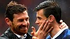 André Villa-Boas junto a Gareth Bale
