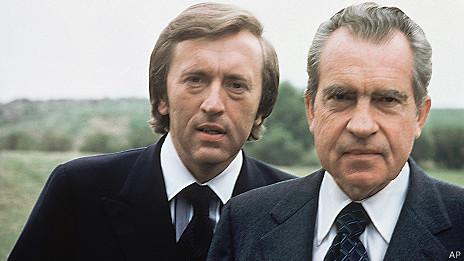 David Frost con Richard Nixon