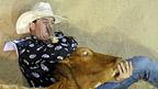 Terry Evison thi đấu tại lễ hội National Rodeo Finals ở Gold Coast, Úc. Ảnh: Matt Roberts/Getty
